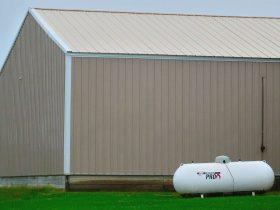 Berry Township Garage Propane Tank Panoramio