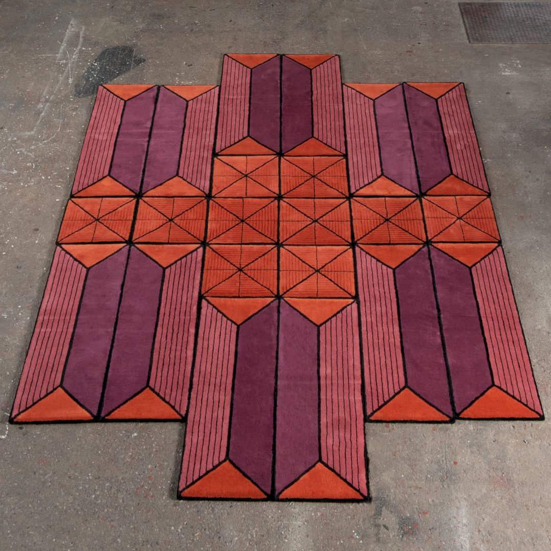 Astron Shape Shifting Rug Shape Shifting Rug By Ingrid Kulper 3