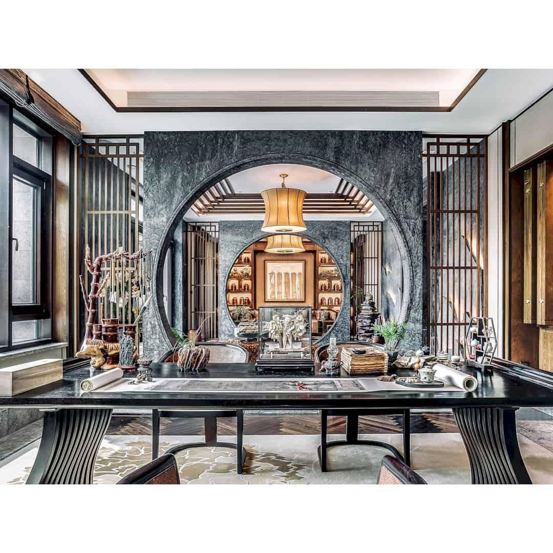 Beijing Shimao Loong Palace Type B Villa Luxury Show Villa By David Chang Design Associates Intl 3