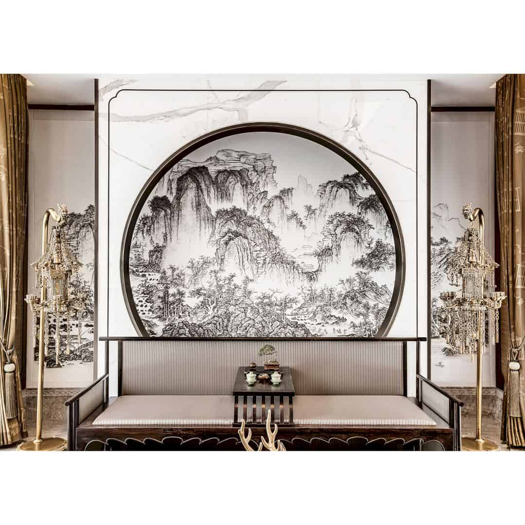 Beijing Shimao Loong Palace Type B Villa Luxury Show Villa By David Chang Design Associates Intl 5