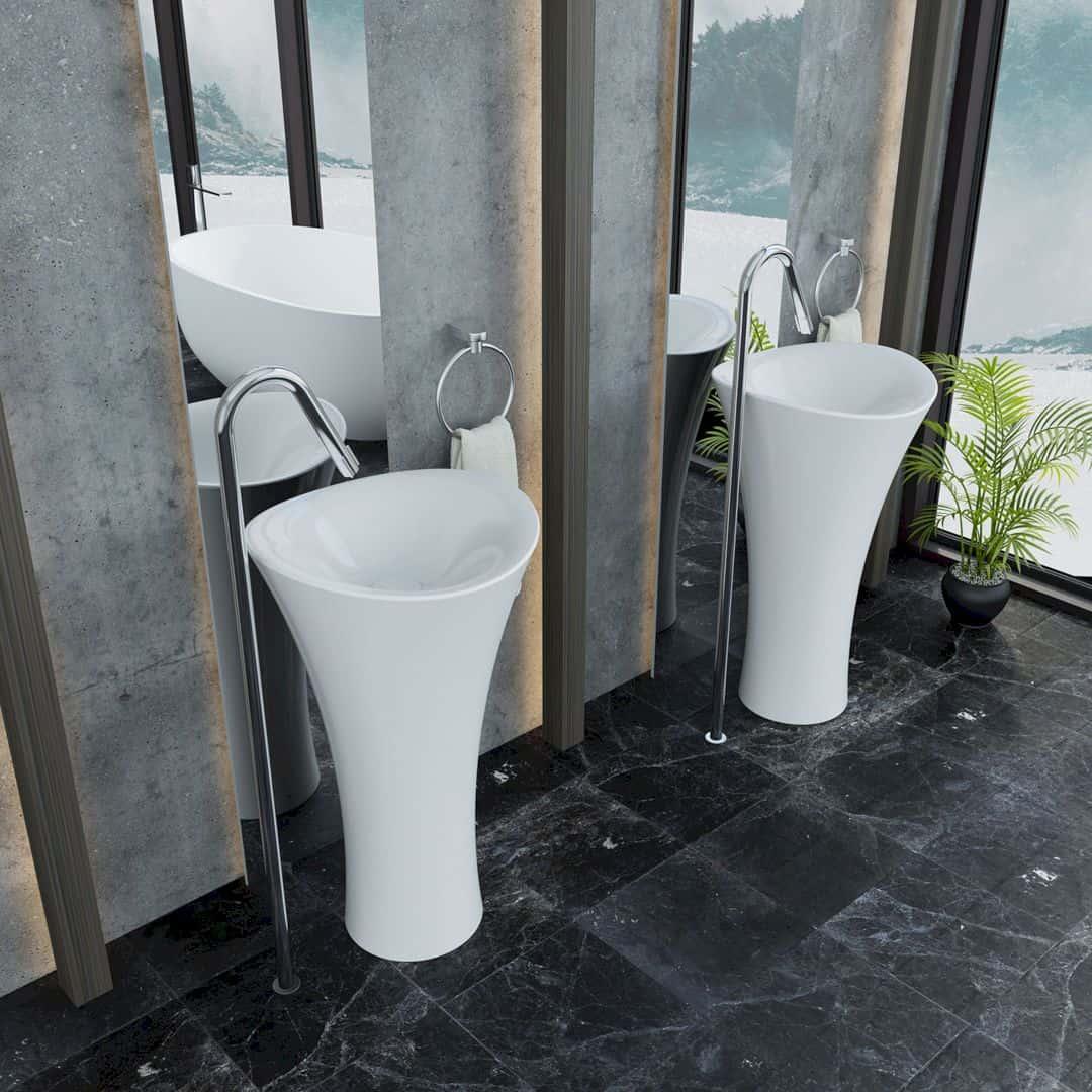 Serel 1901 Freestanding Washbasin Freestanding Washbasin By Serel Design Team 1