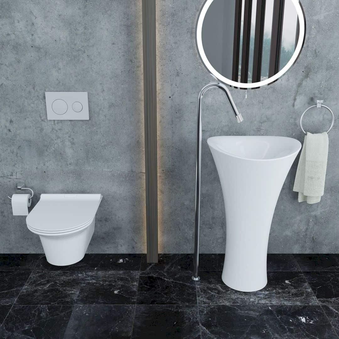 Serel 1901 Freestanding Washbasin Freestanding Washbasin By Serel Design Team 2
