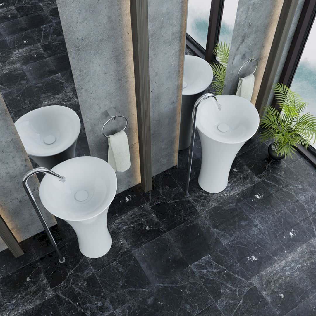 Serel 1901 Freestanding Washbasin Freestanding Washbasin By Serel Design Team 3