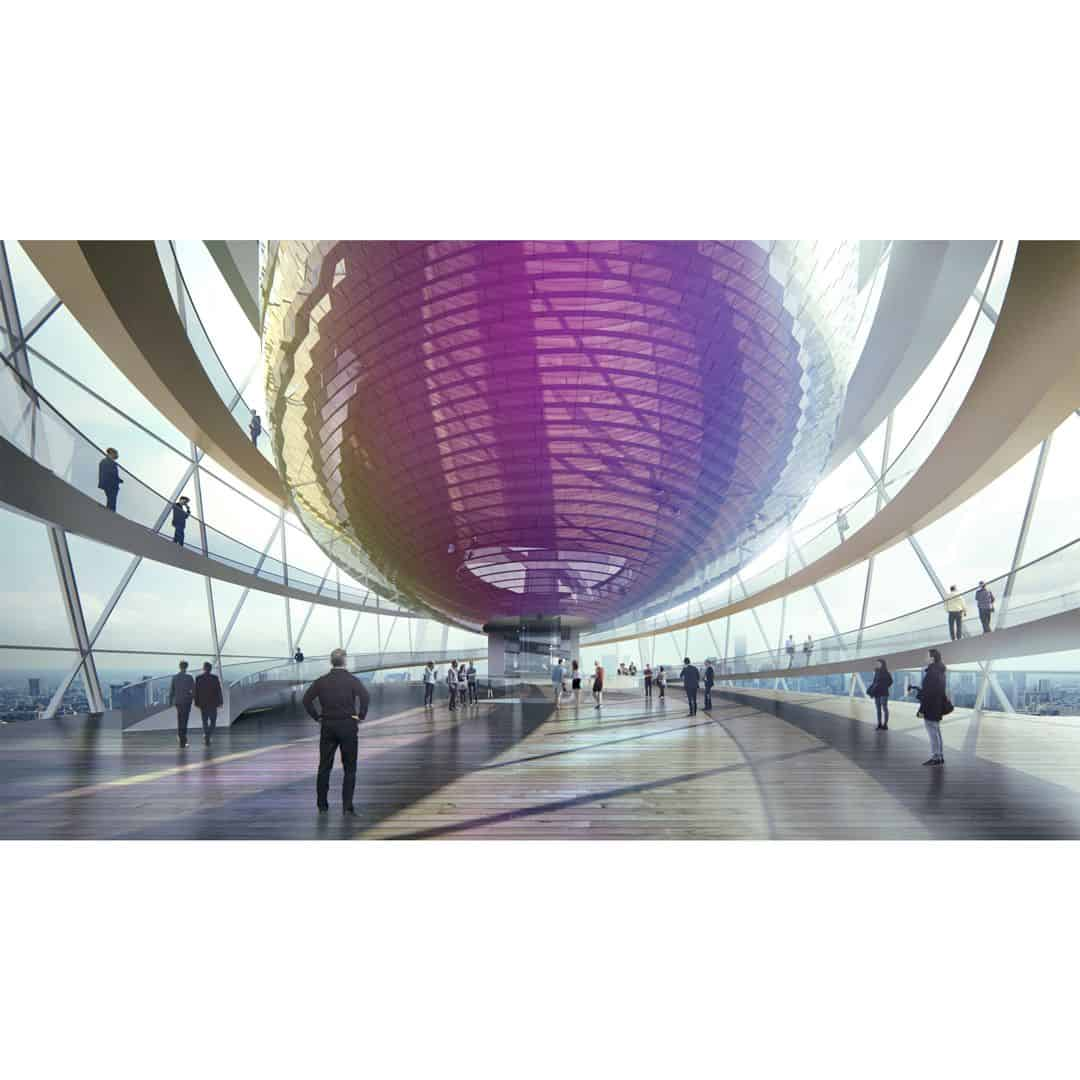 Tianshan Gate Of The World Large Scale Urban Mixed Use Project By Aedas 1