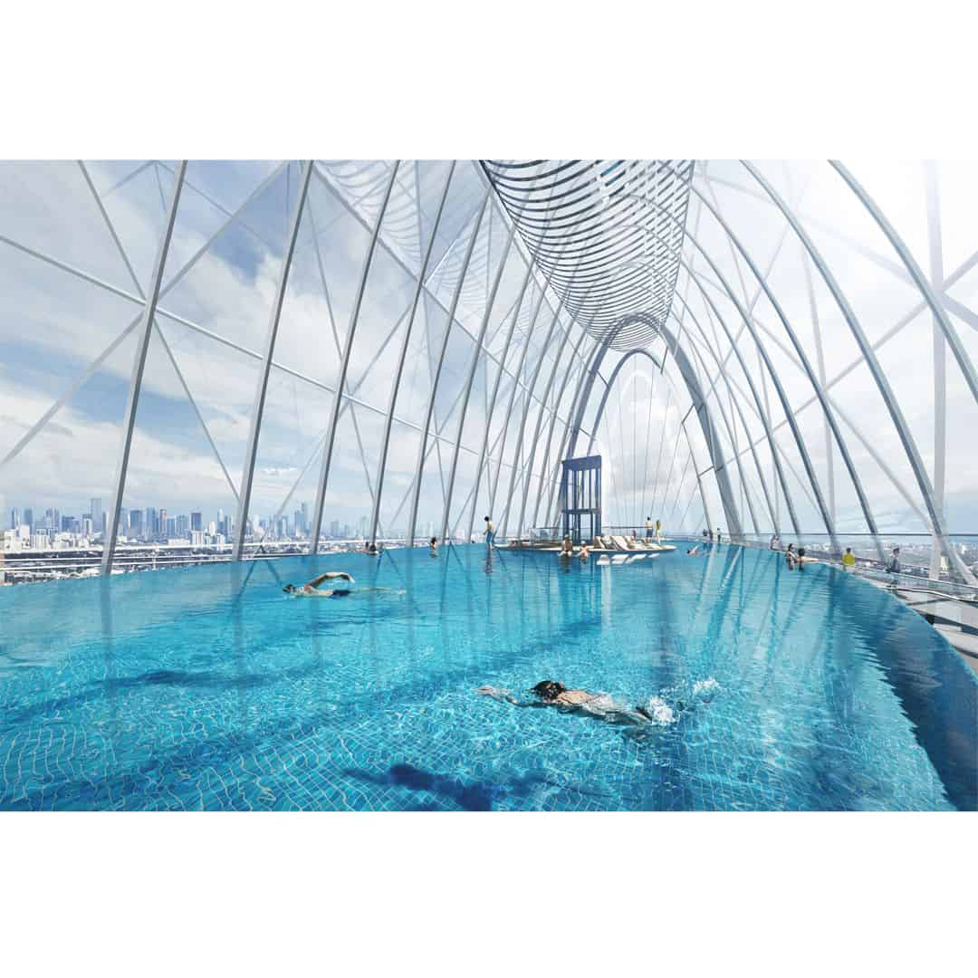Tianshan Gate Of The World Large Scale Urban Mixed Use Project By Aedas 2