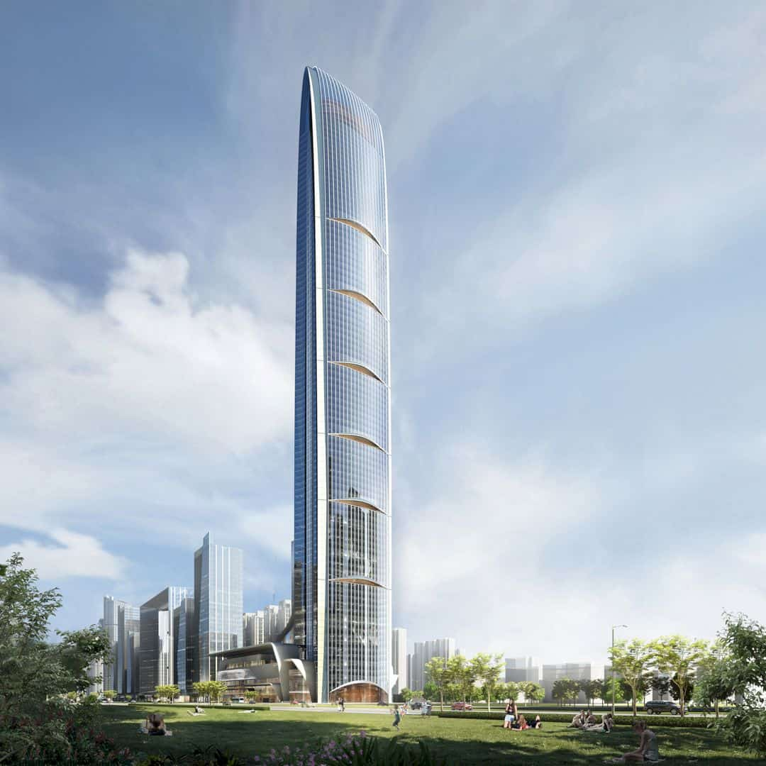 Tianshan Gate Of The World Large Scale Urban Mixed Use Project By Aedas 5