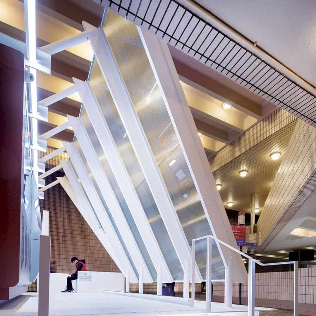 Urban Serene Library Station By Architectural Services Department HKSARG 1