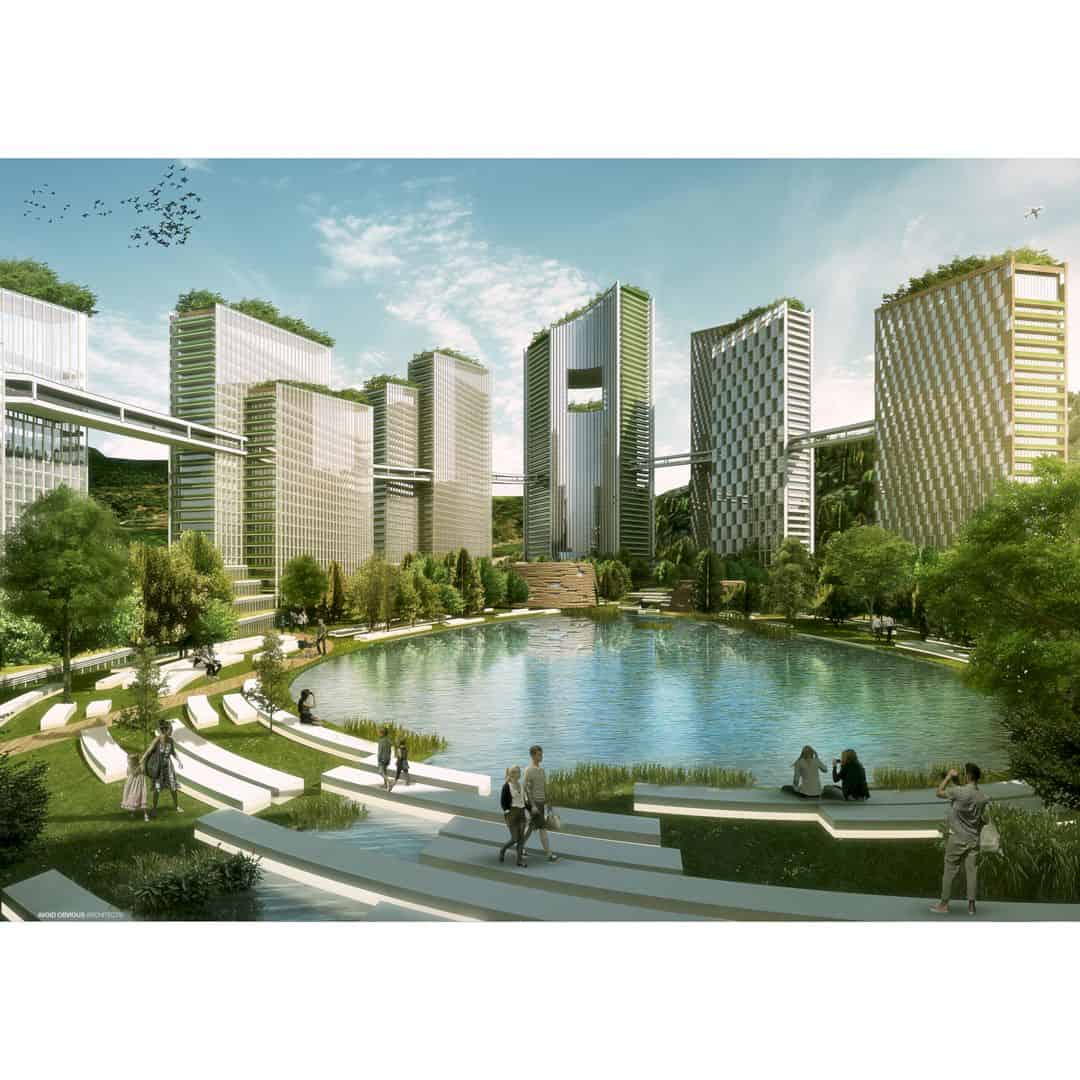 WeTown City For 40000 People By Vicky Chan 2