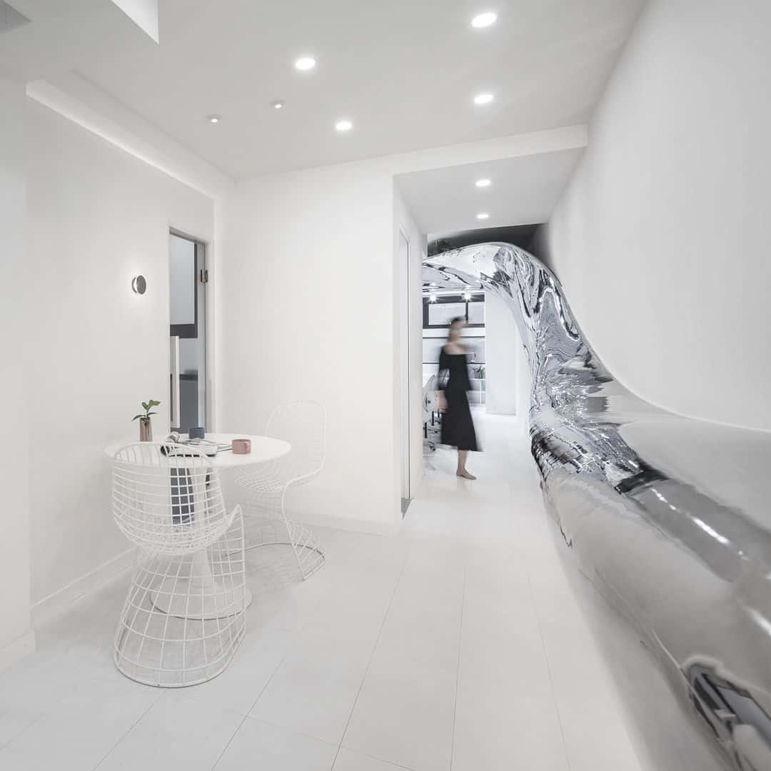 Studio With Mirror Bridge Studio By Jinrui Liu 2