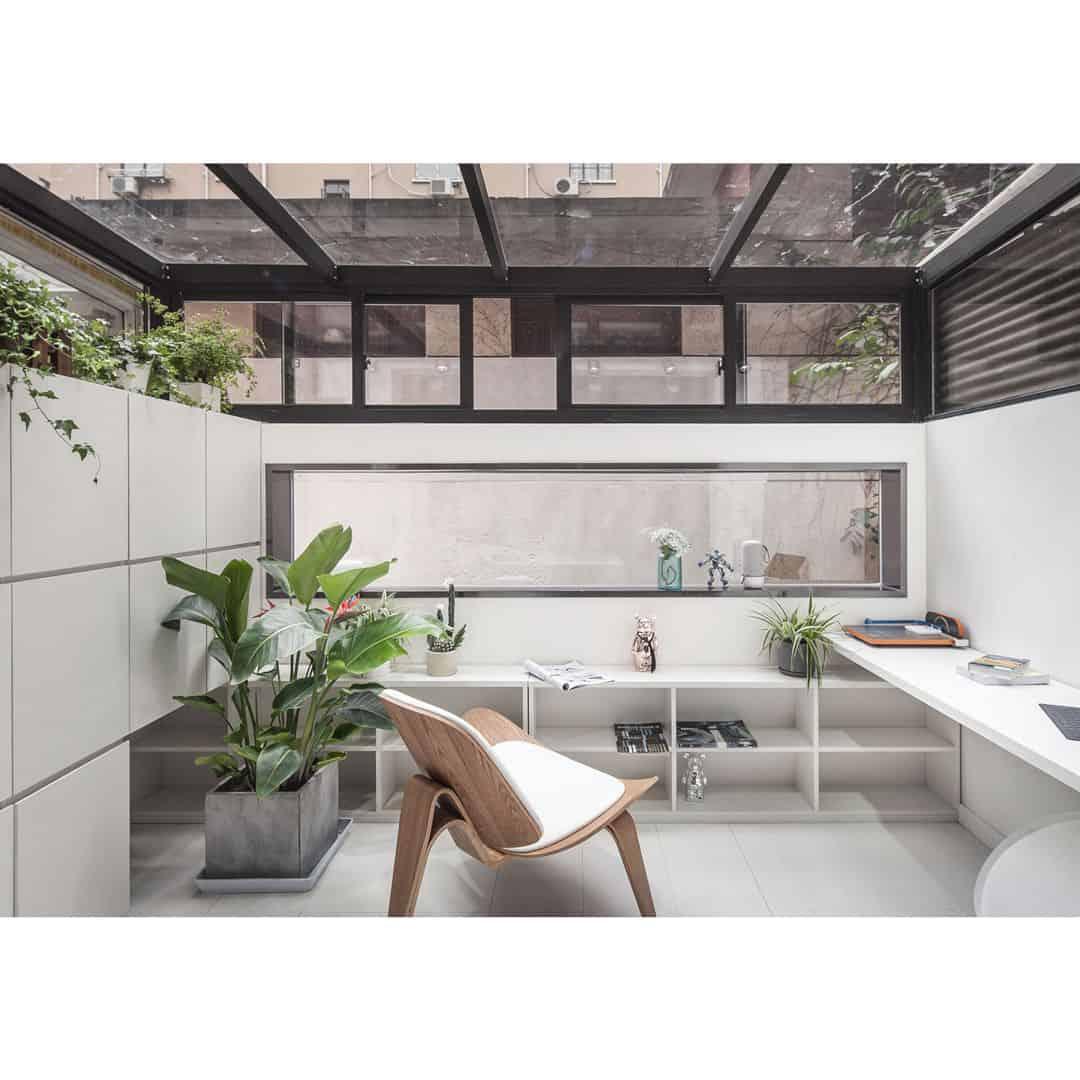 Studio With Mirror Bridge Studio By Jinrui Liu 3