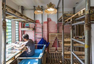 10 Square Meters Narrow Atelier 20