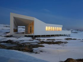 Fogo Island Shed Hotel Dining Room By Todd Saunders 4